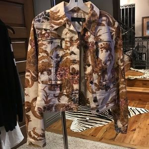 ⚜️ Just Cavalli ⚜️ Ornate Denim Jacket